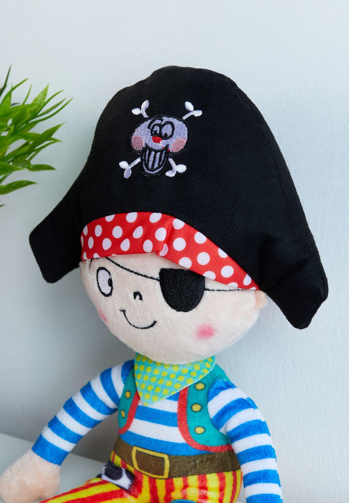 Captain Pilchard Plush Toy