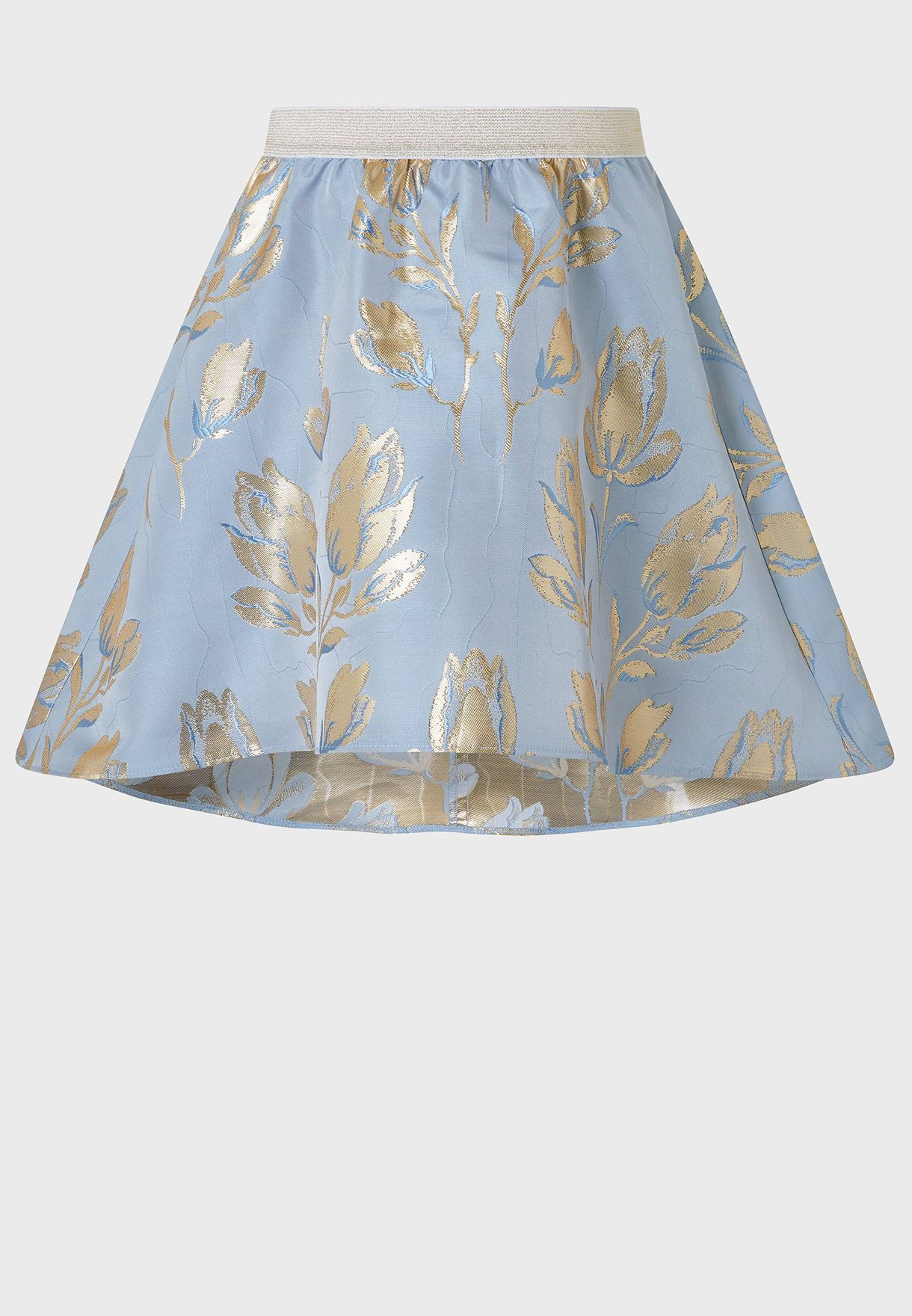 Kids Tulip Jacquard Skirt