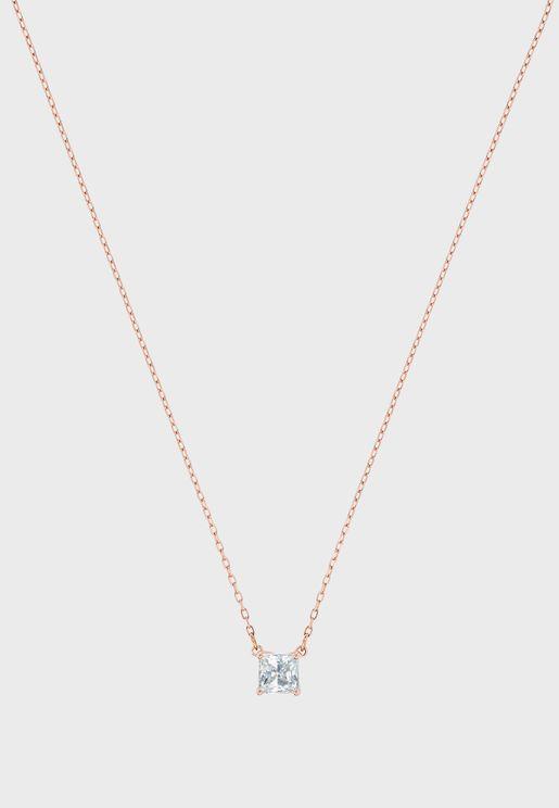 Attract Square Pendant Necklace