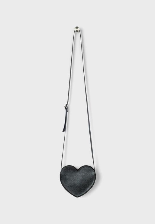 Kids Heart Shape Crossbody
