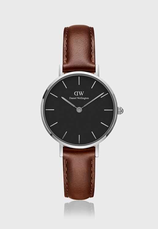 Petite St Mawes S Black 28mm Watch DW00100237