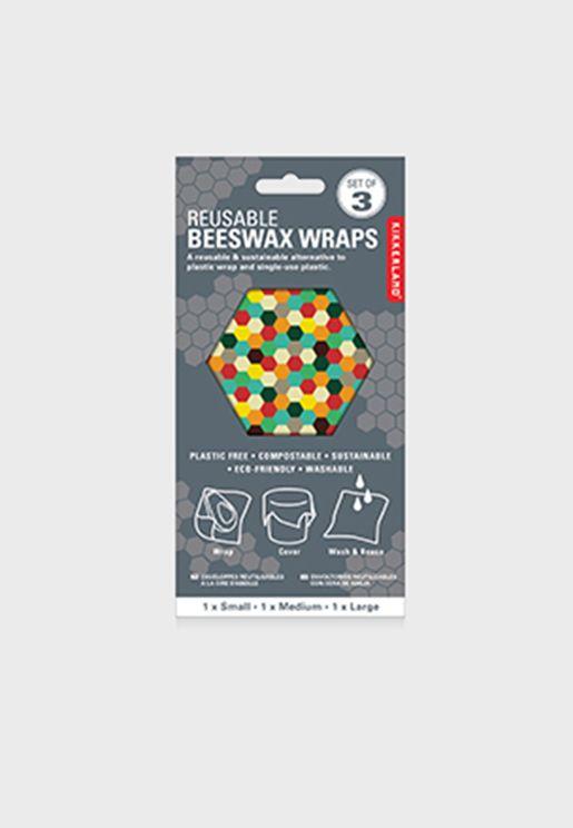Reusable Beewax Wraps