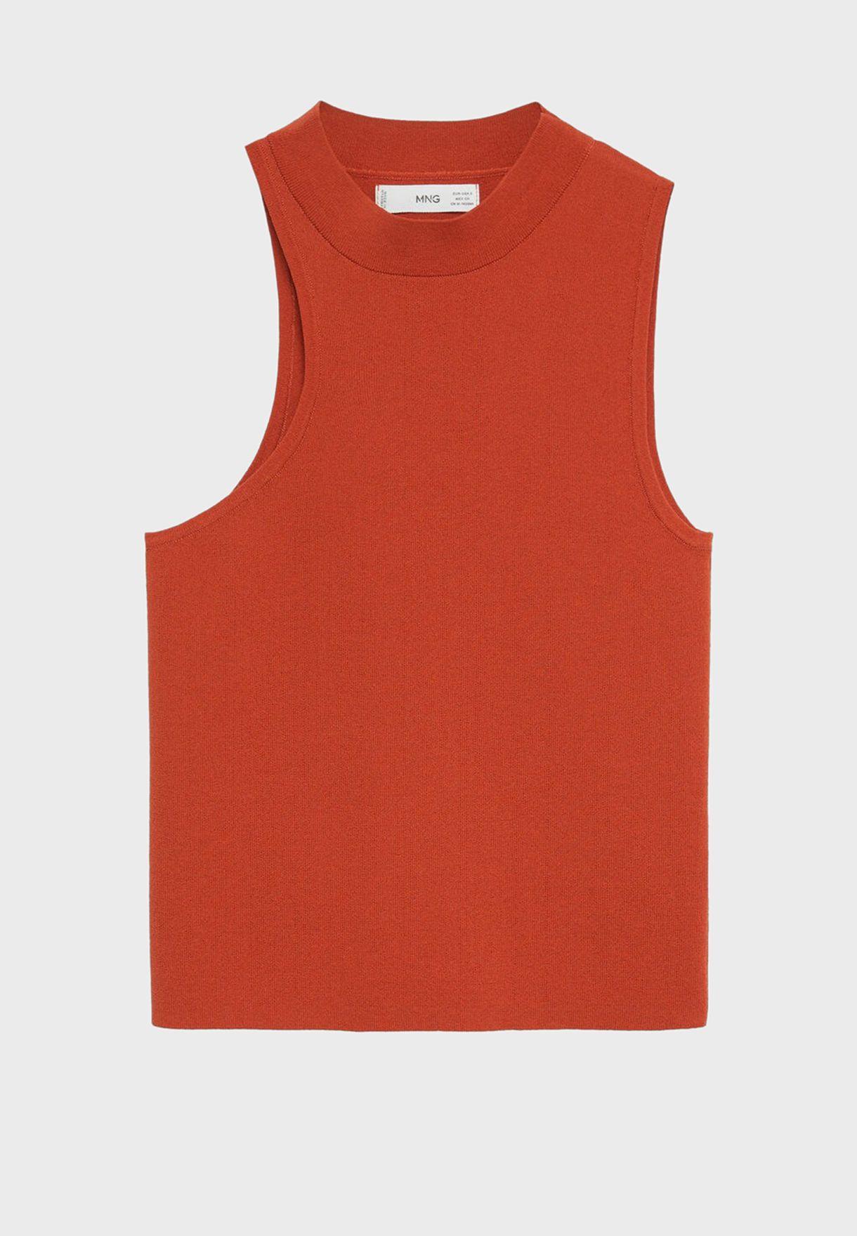 Asymmetric Sleeve Top