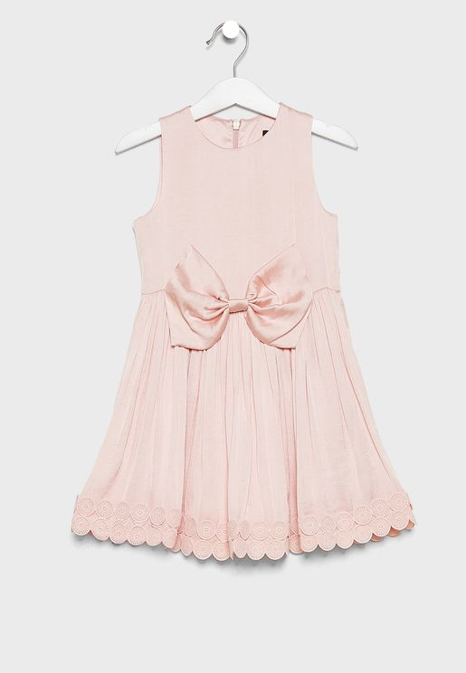 Little Bow Detail Dress