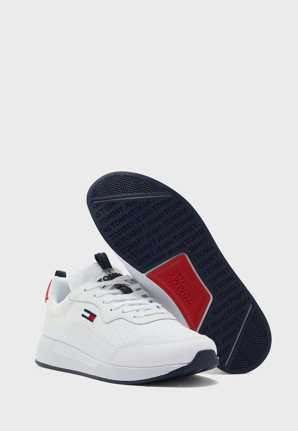 Technical Detail Runner Sneakers