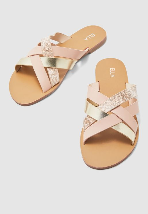 Cross Front Sandal