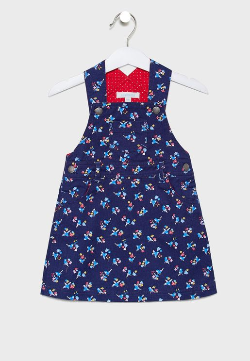 Kids Pretty Bird Dungaree