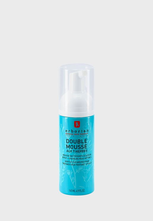 Double Mousse Gentle Cleansing Foam