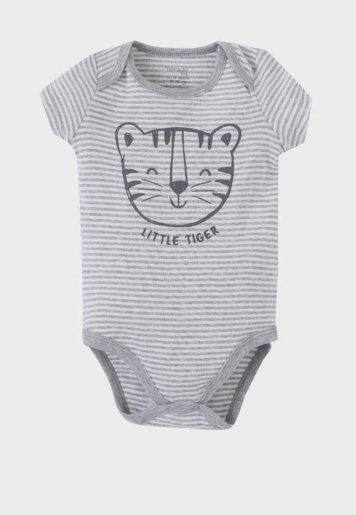 Infant Striped Bodysuit