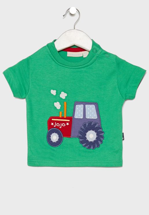 Infant Tractor Graphic T-Shirt