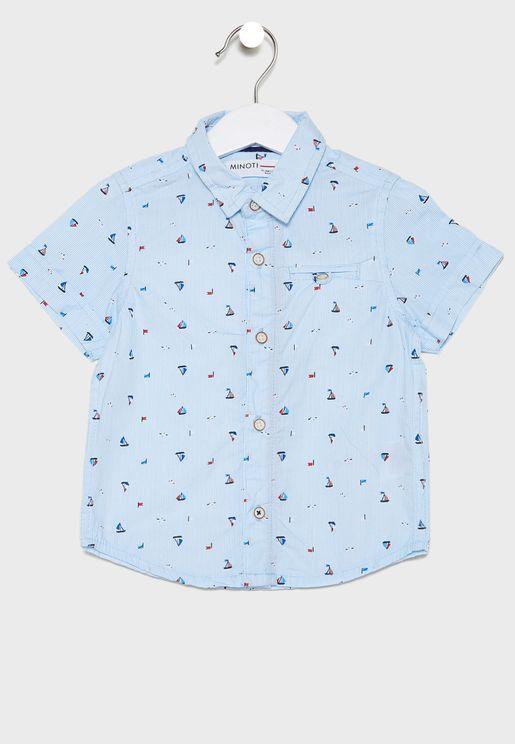 قميص مخطط للبيبي