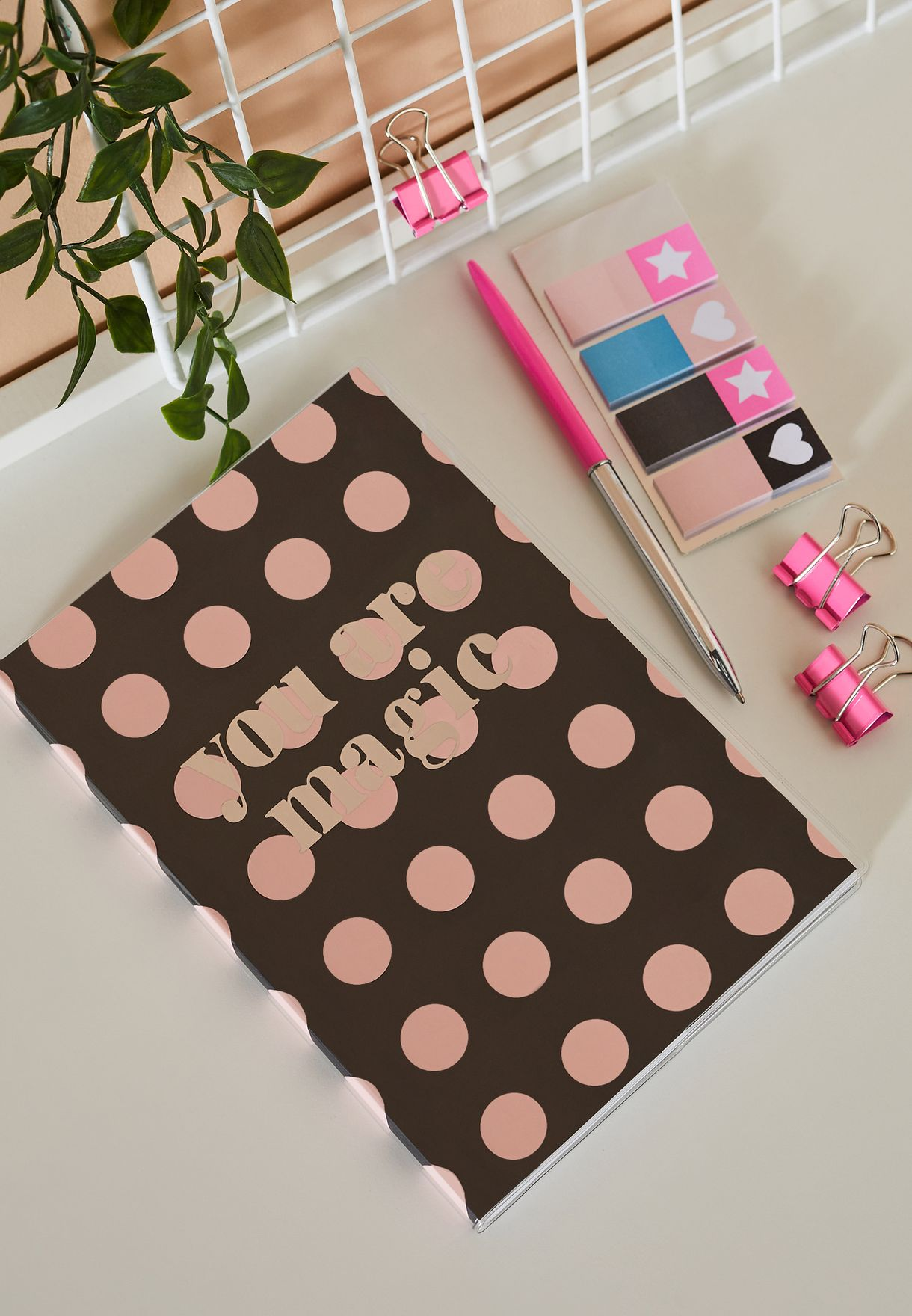 Printed Notebook Stationery Set