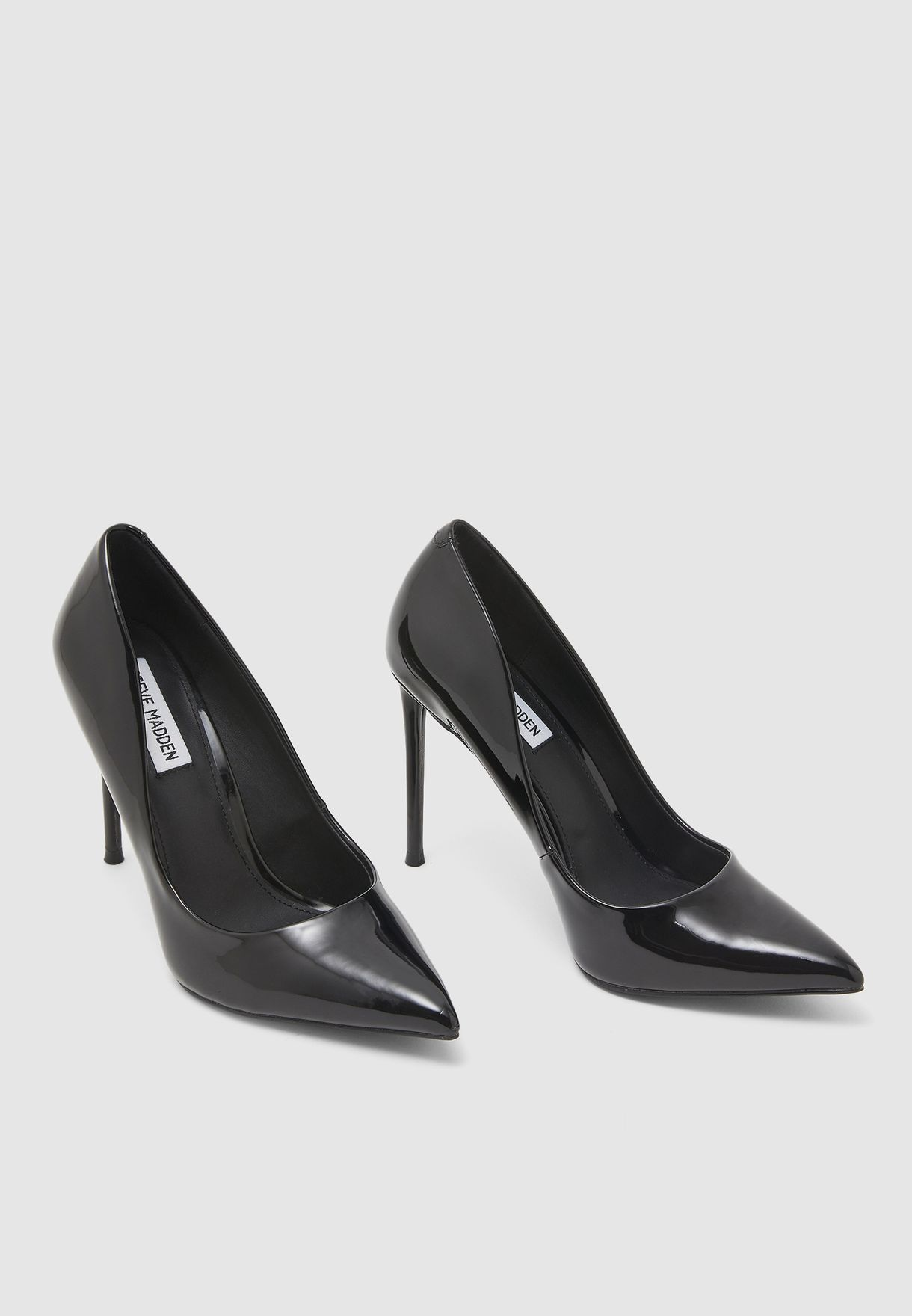 Vala High Heel Pump - Black