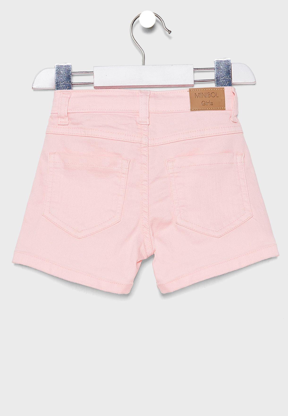 Infant Fold Hem Shorts