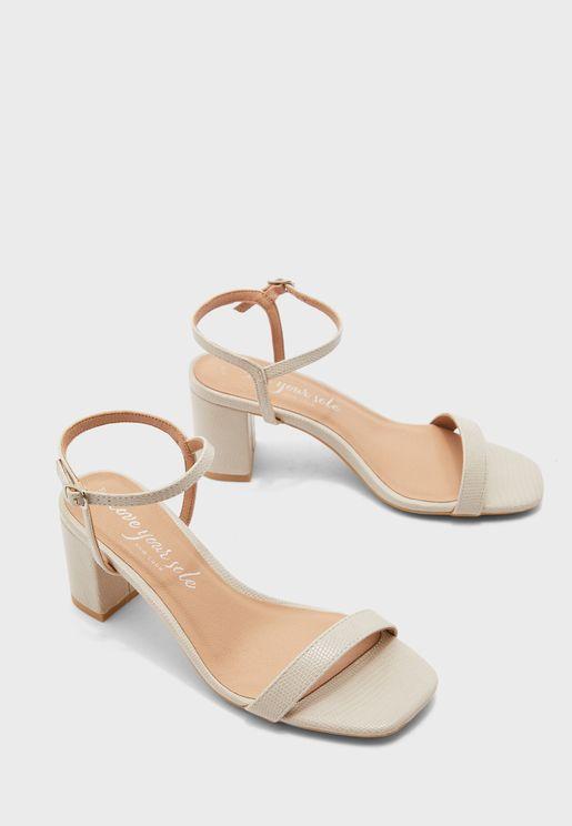Tifar Block Heel Sandal