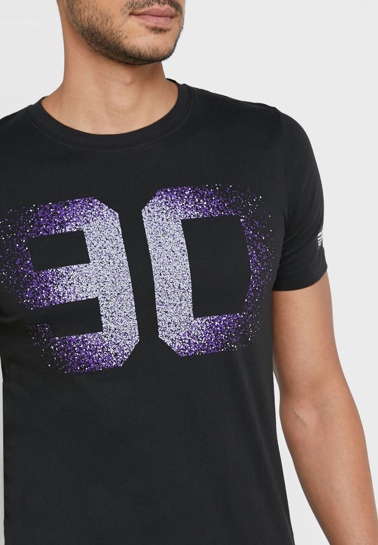 Power Slim Fit Crew Neck T-Shirt