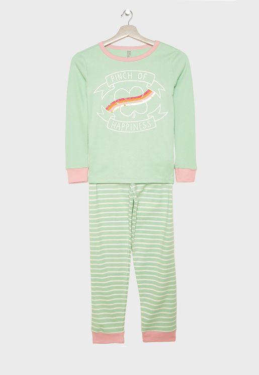 Kids Happiness Pyjama Set
