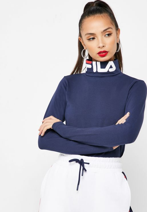 Yvette Fitted Roll Neck T-Shirt