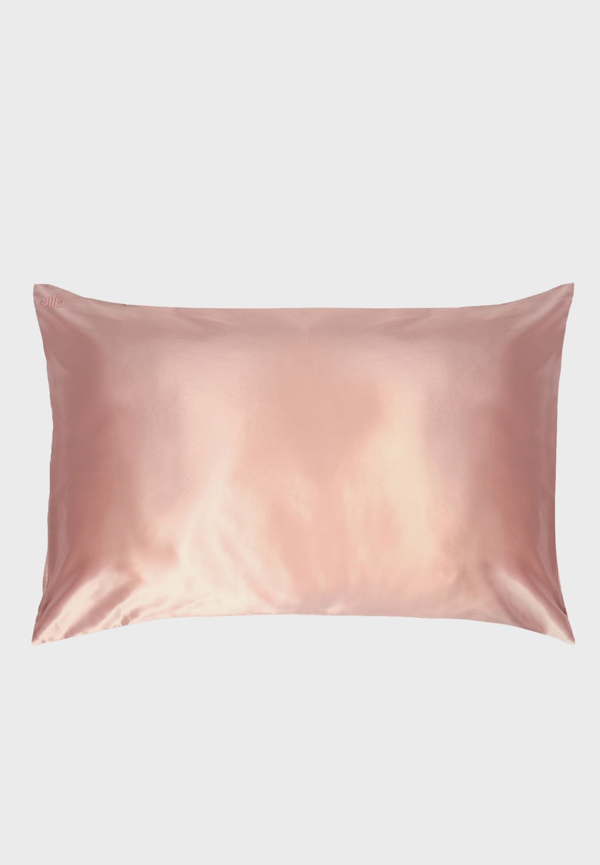 Queen Size Silk Pillow Case - Pink