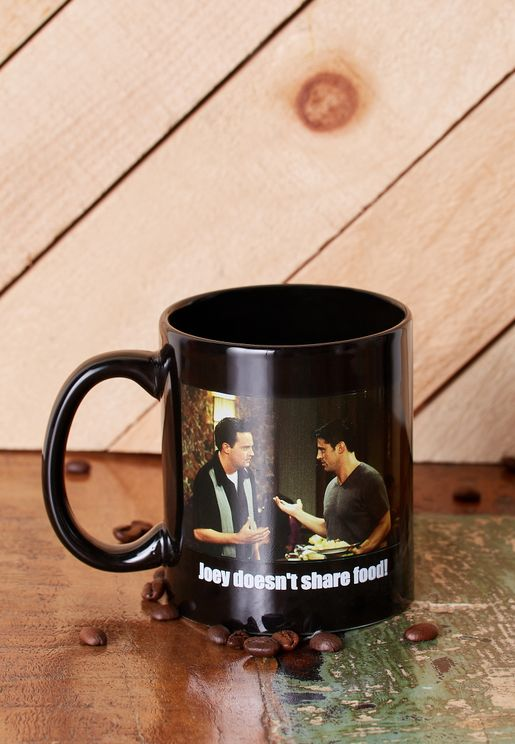 Joey Doesn't Share Food Friends Mug
