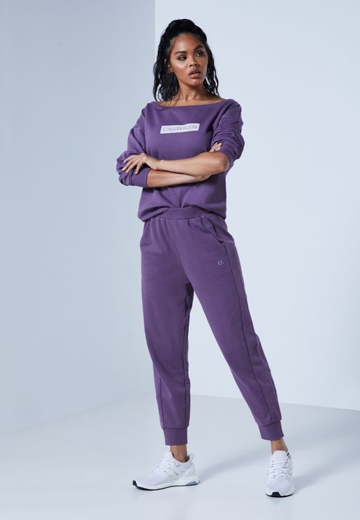 Essential Knit Cuffed Sweatpants