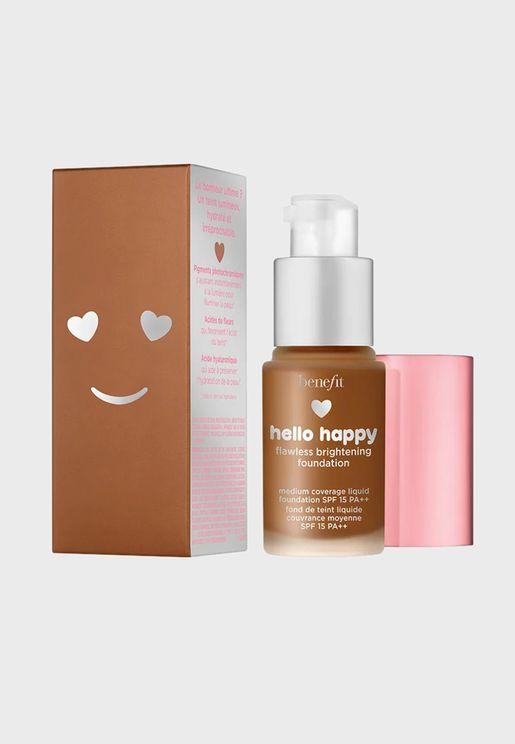 Hello Happy Flawless Brightening Mini Foundation-11