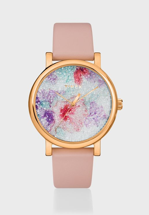 TW2R87800 Crystal Bloom Analog Watch