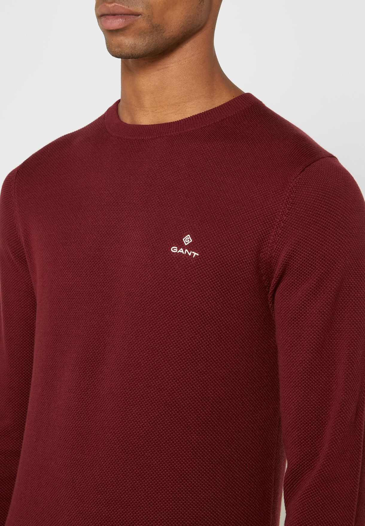 Chest Logo Sweater