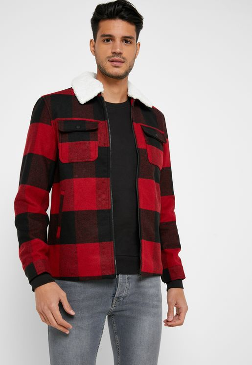 Ross Checked Jacket