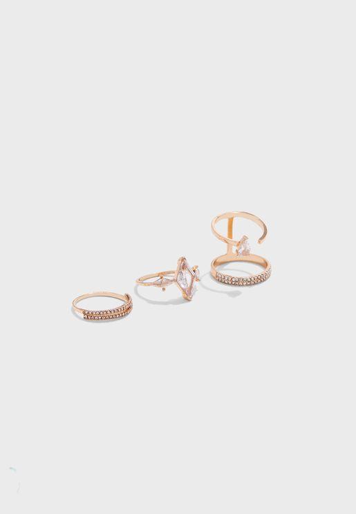 Golemba Pack Of Rings