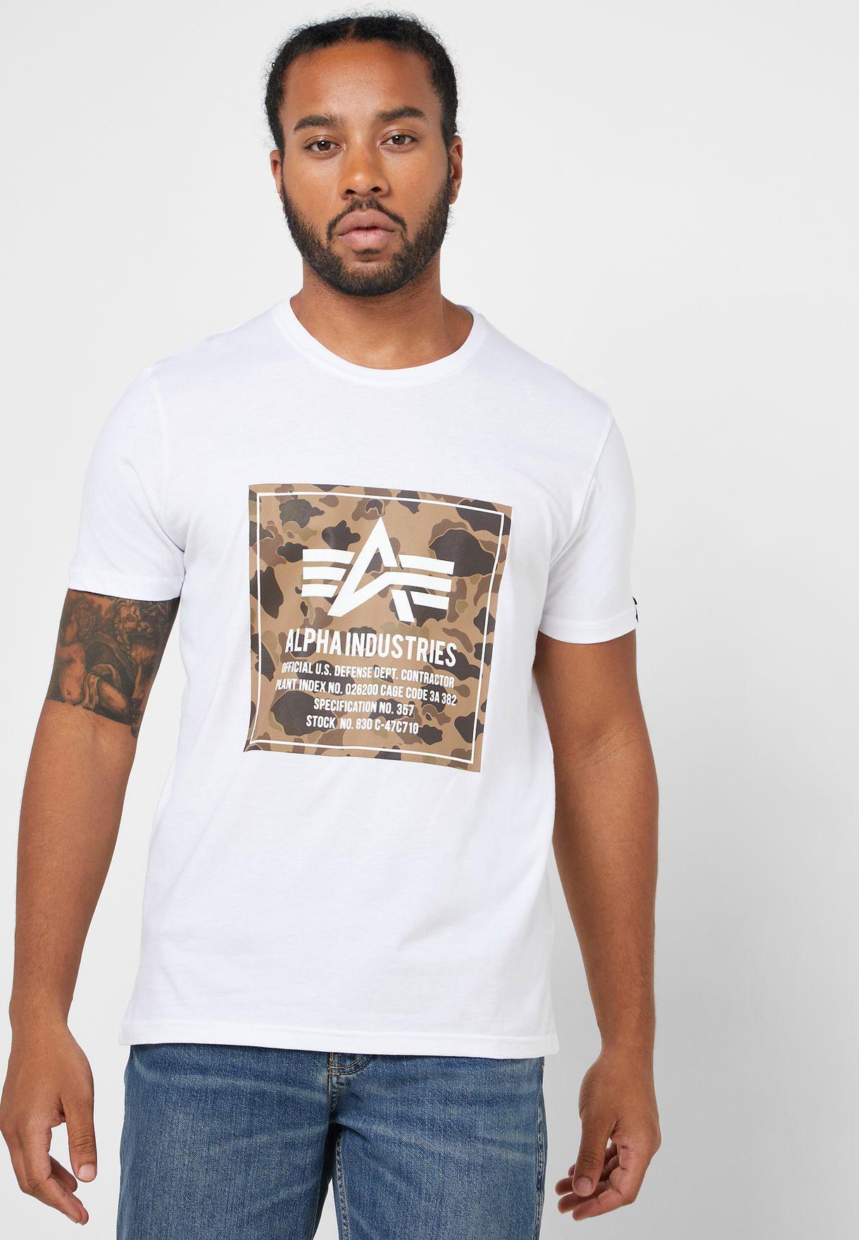 Camo Block T-Shirt