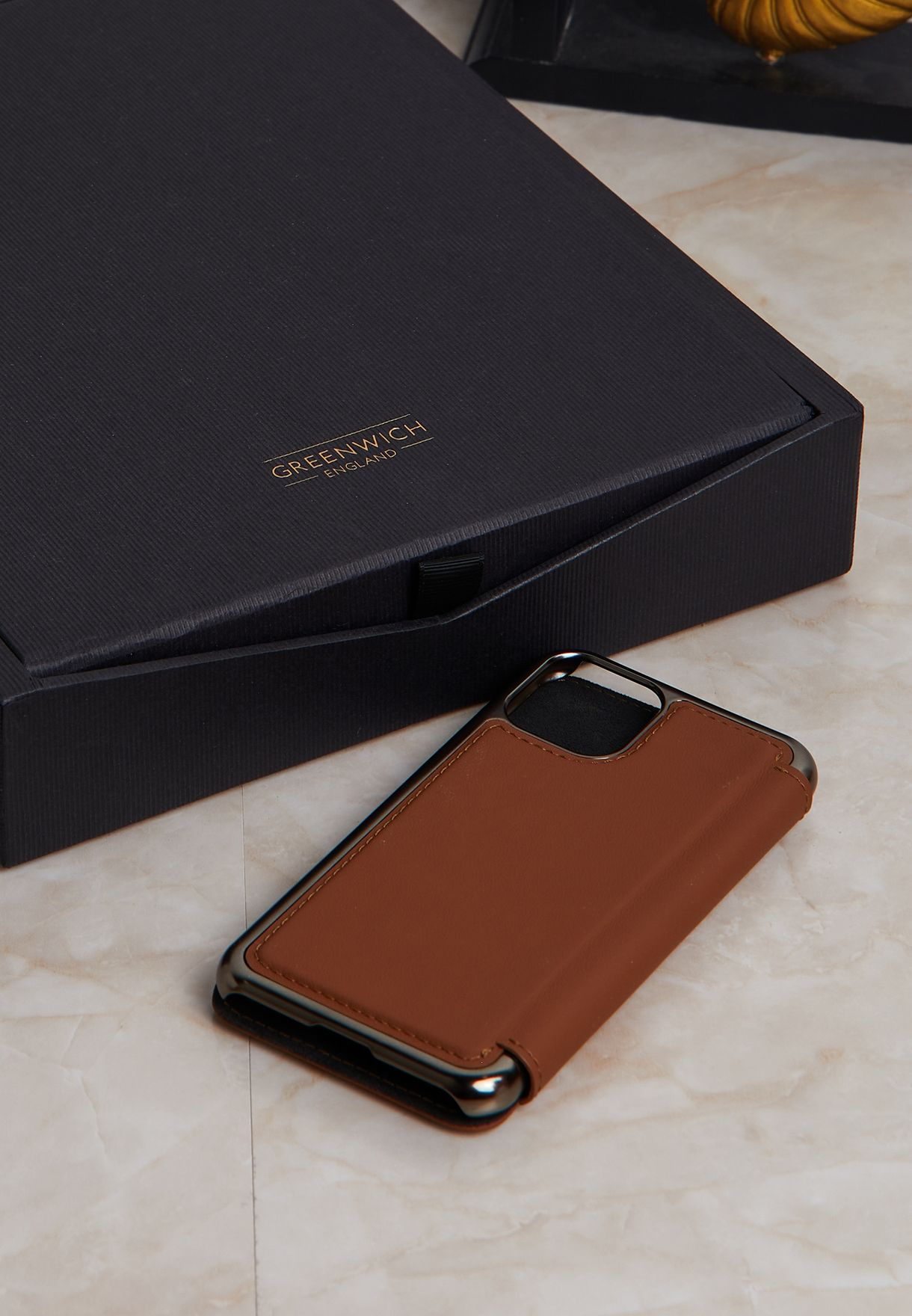 غطاء ايفون 11 برو و11 برو ماكس جلد اصلي