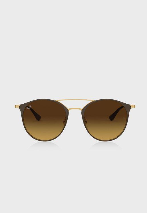 0RB3546 Round Sunglasses