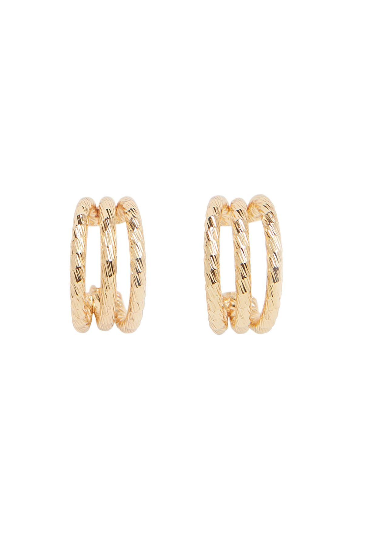 Sarah Hoop Earrings