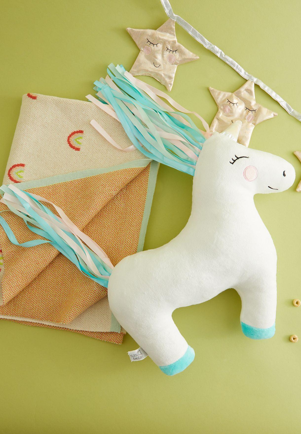 Rainbow Unicorn Decorative Cushion