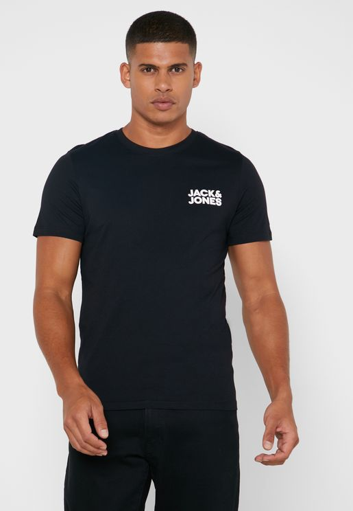 Logo Slim Fit Crew Neck T-Shirt