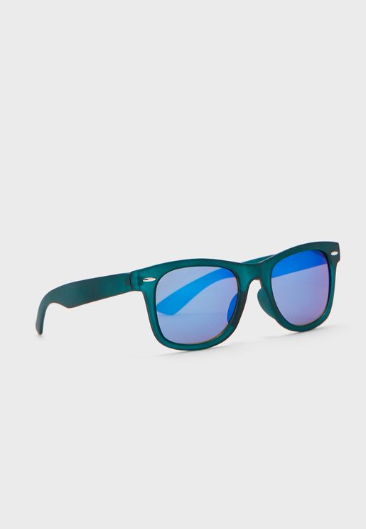 Kids Squared Frame Sunglasses