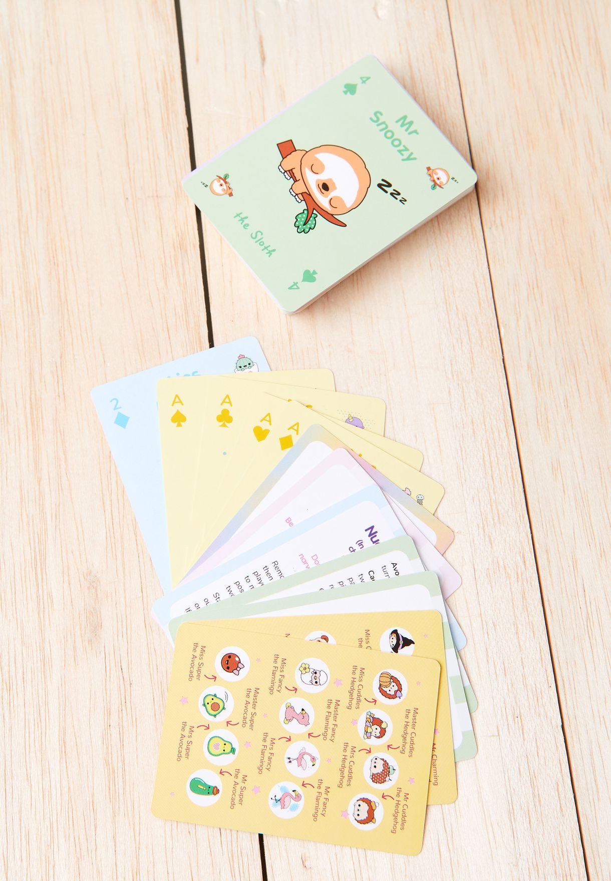 بطاقات العاب الورق
