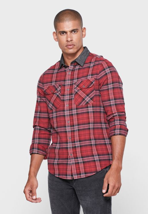 Checked Relaxed Shirt