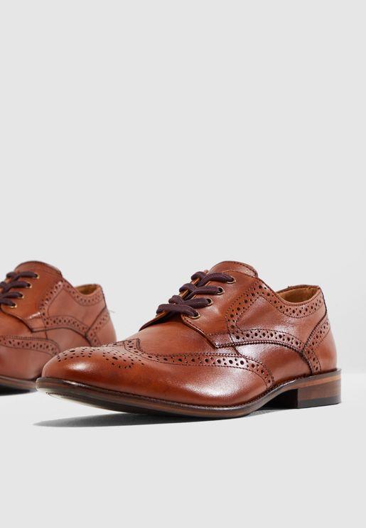 Sharp Brogue Shoes