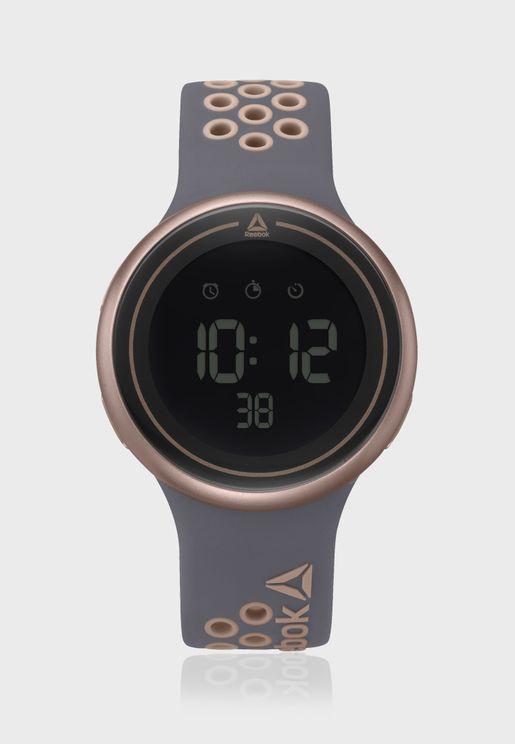 Durante Silicone Strap Watch
