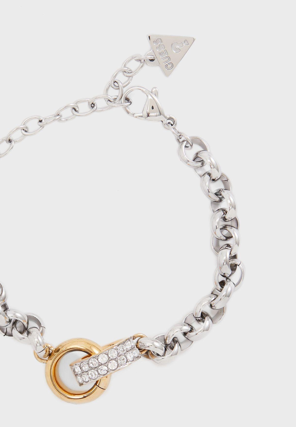 Embrace Ring Chain Bracelet