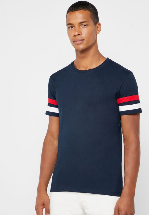 Arm Stripe T Shirt