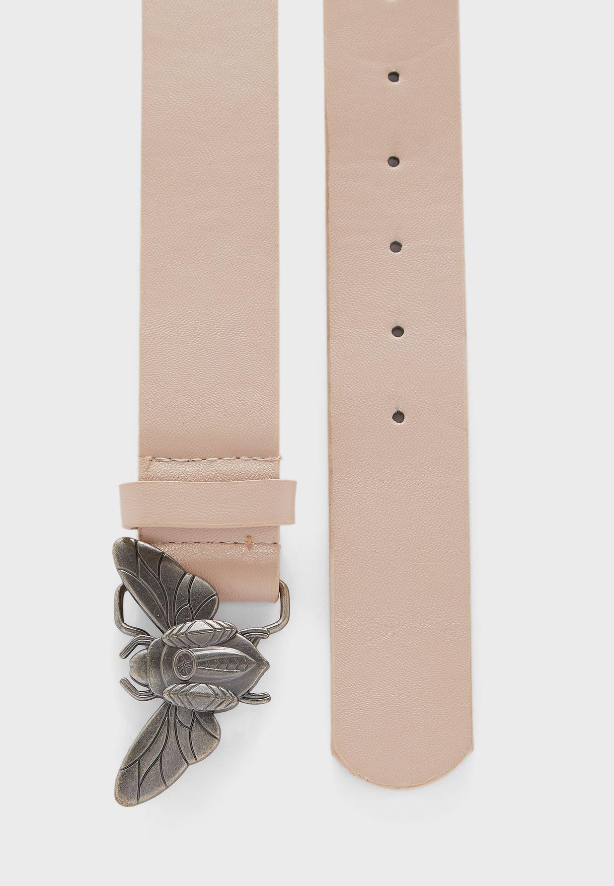 حزام بابزيم فراشة