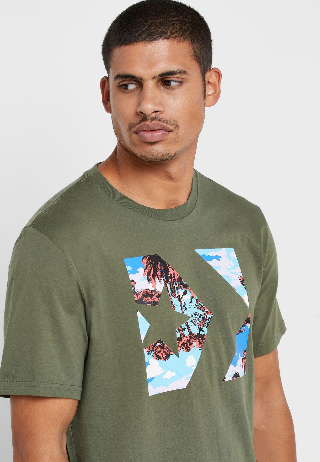 Star Chevron Camo Fill Box T-Shirt