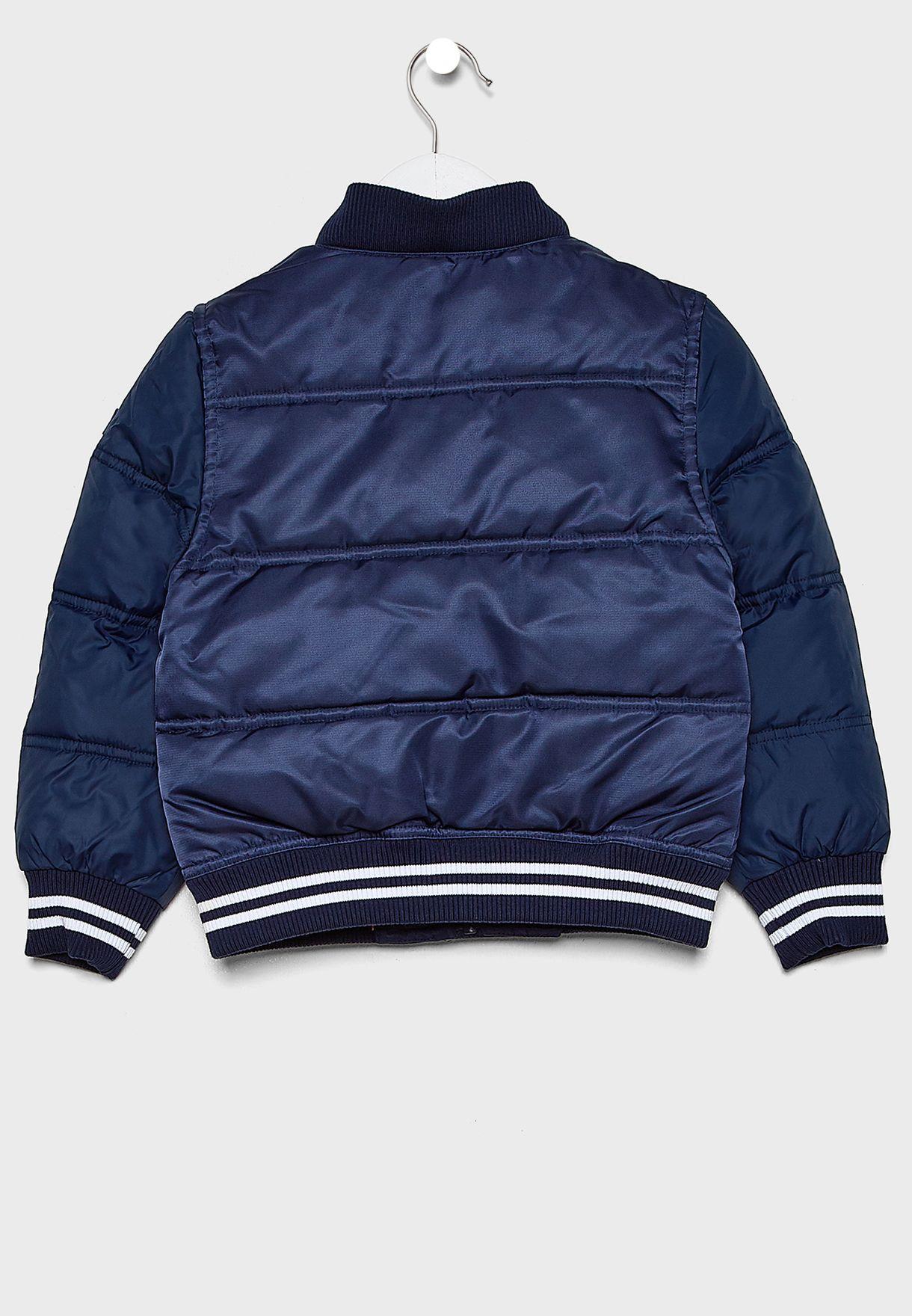 Kids Essential Bomber Jacket