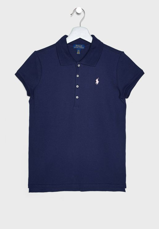 Kids Logo Graphic Polo