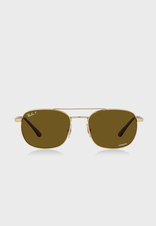 0Rb3670Ch Oversized Sunglasses