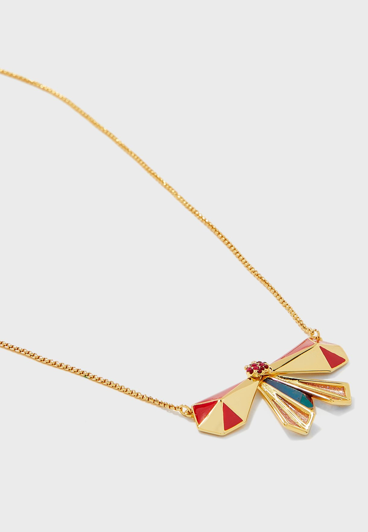 Atlas Pyramid Pendant Necklace