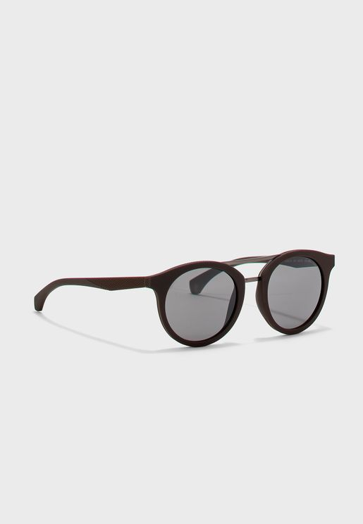 CKJ817S Round Sunglasses
